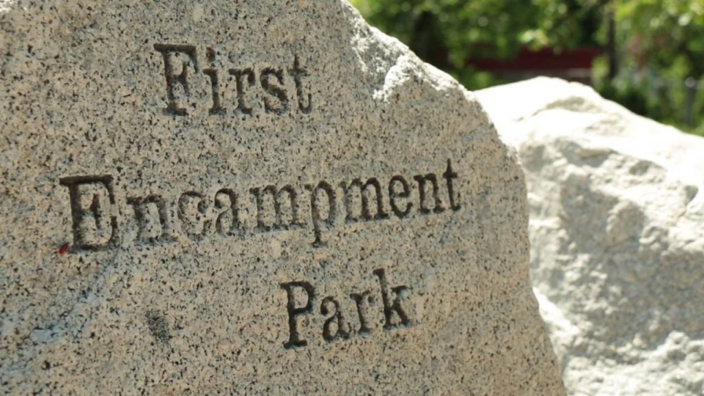 first encampment park